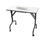 AYC LITTRELL FOLDABLE MANICURE TABLE