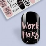B. Youthful Nail Wraps - Boss Babe