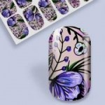 B. Youthful Nail Wraps - Lavender Gardens