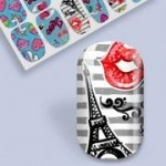 B. Youthful Nail Wraps - Young Love