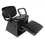 COLLINS 3750L CODY Shampoo Chair lock-in-place Kickout Legrest