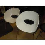 Used Reception Chairs White Plastic Pick Up Only