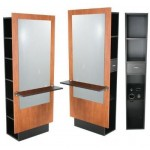 Jeffco J10 JAVA Formula Styling Station w/ Mirror