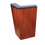 Kaemark Javoe American-Made Reception Desk - Right Hand Modular km-J-40-R