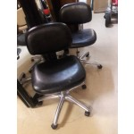 Used Manicure Chairs Black On Caster Base