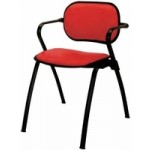 Pibbs Nuova ERA Upholstered Recption Chair
