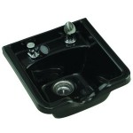 SHAMPOO BOWL,PARAGON 12 FIBERGLASS WITH FIXTURES