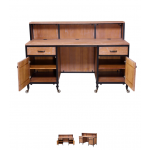 Savvy Rustic Reception Desk sav-470-rd-rw
