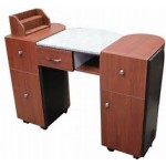 Union Beauty MT912 Manicure Table With Marble Top