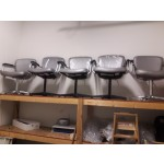 Used Reception Chairs Gray 7-Pick Up Only