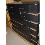 JEFFCO WALL MOUNT STATIONS BLACK