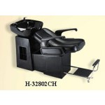 WSE H-32802 RELAX-A SHAMPOO LOUNGE BACKWASH ADJUSTABLE FOOT REST